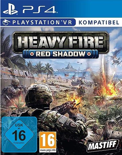 Heavy Fire Red Shadow VR - PlayStation 4 [Importación alemana]: Amazon.es: Videojuegos