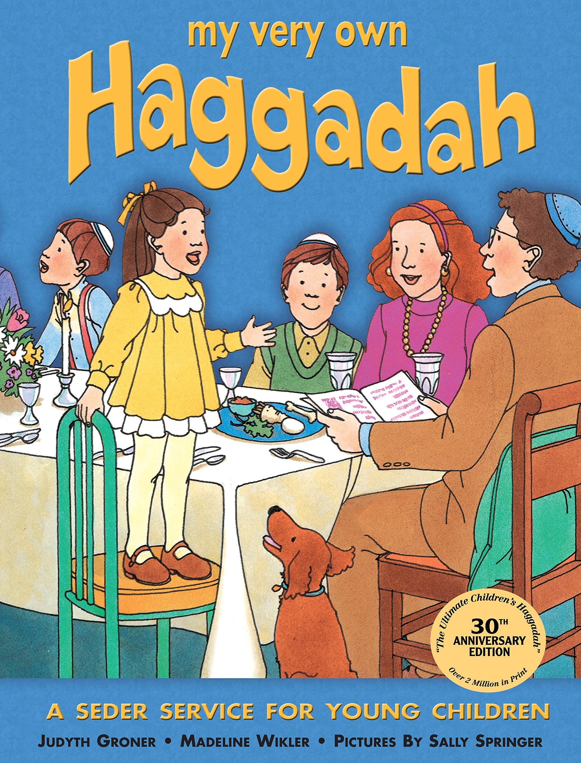 graphic relating to Children's Passover Seder Printable identify My Incredibly Particular Haggadah: A Seder Assistance for Younger Kids