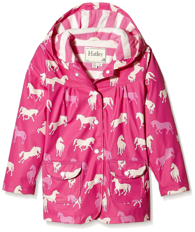 5e9f46b61b22 Horse Print Raincoat