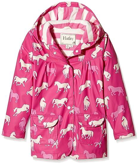 66f1f7391 Hatley Girl s Classic Horses Raincoat