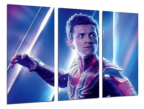 Quadro moderno fotografico palloncini superheroes spiderman