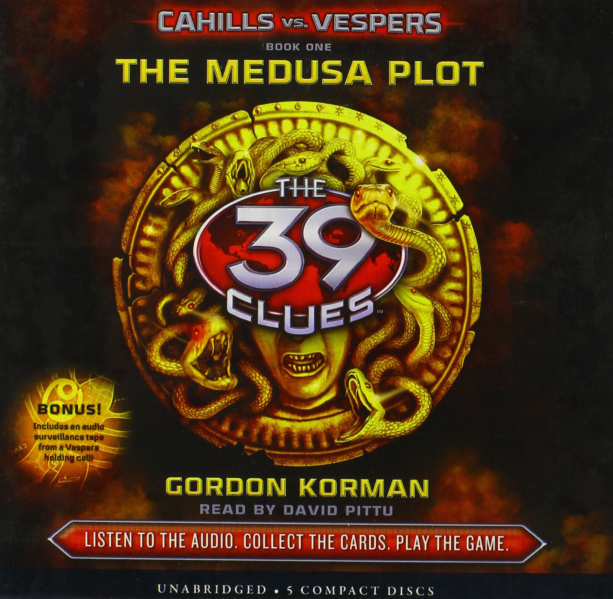 The Medusa Plot (The 39 Clues: Cahills vs. Vespers, Book 1) - Audio Library Edition