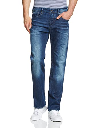 0dc68acd8c3 Amazon.com: G-Star Raw Men's 3301 Loose Accel Stretch Denim: Clothing