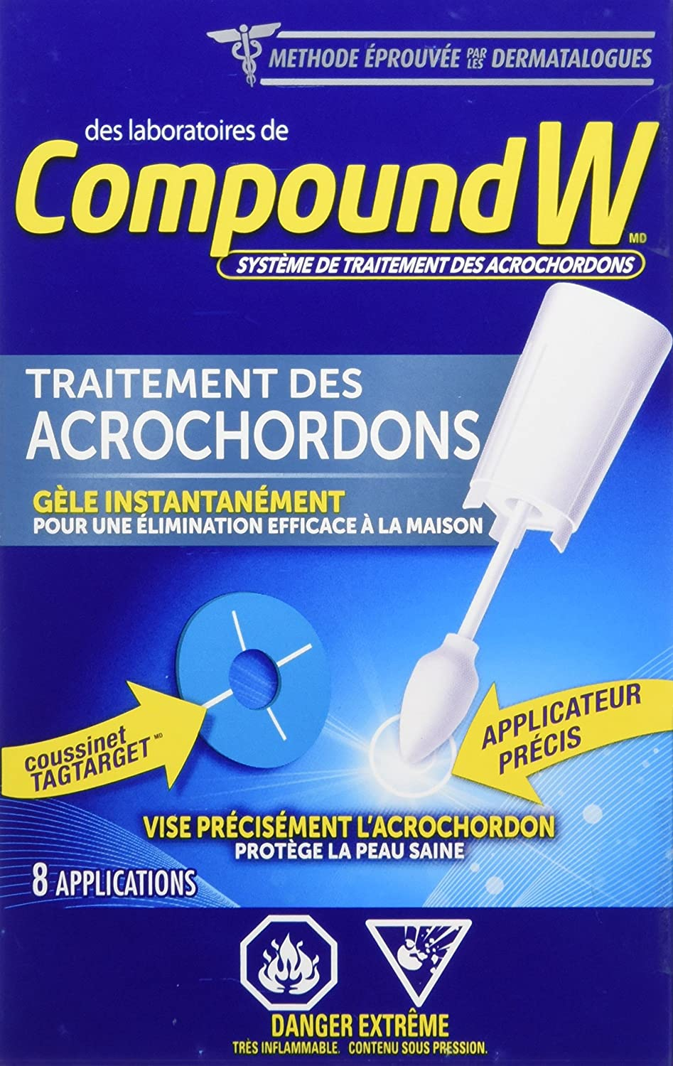 Amazon Com Cn Compound W Skin Tag Remover 8 Ct Compound W