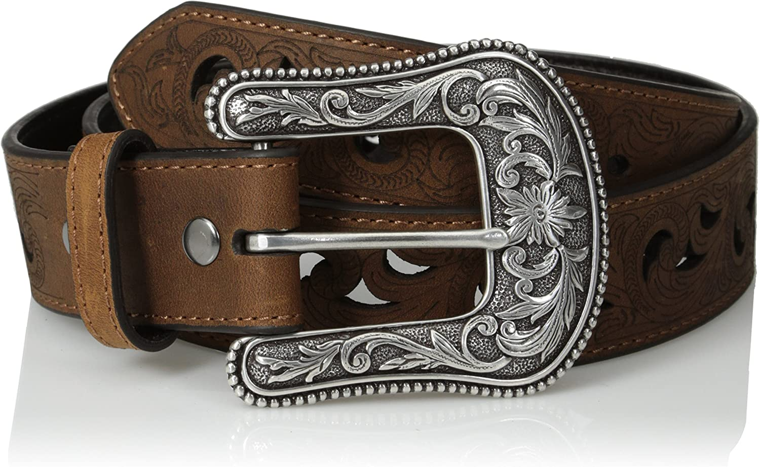 ARIAT Brown Leather Printed...