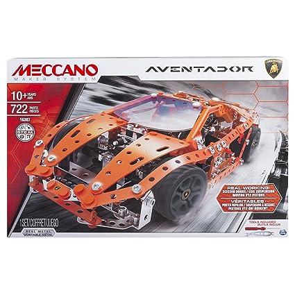 Amazon Com Meccano By Erector Lamborghini Aventador Model Building