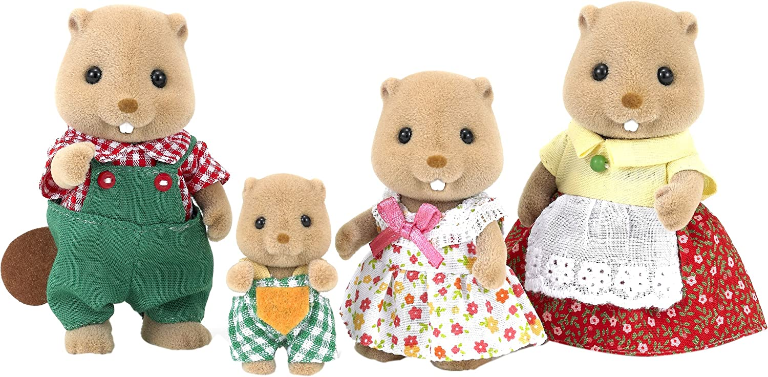 "Epoch Sylvanian Families  Doll /""Fs-13 Family of Deer/"""