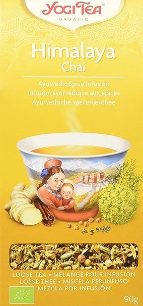 Yogi Tea Infusión de Hierbas Himalaya Chai - 90 gr
