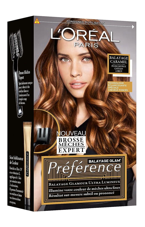Obtenir couleur caramel cheveux