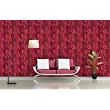 BDPP Imported Non-Woven Textured Washable Wallpaper-W23211(Covers approximately 50 square. Feet.)