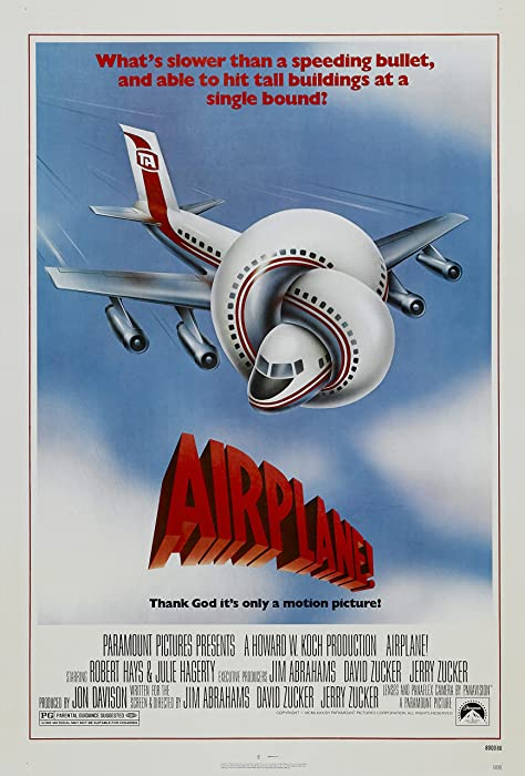 "Airplane! (1980) Movie Poster 24""x36"""