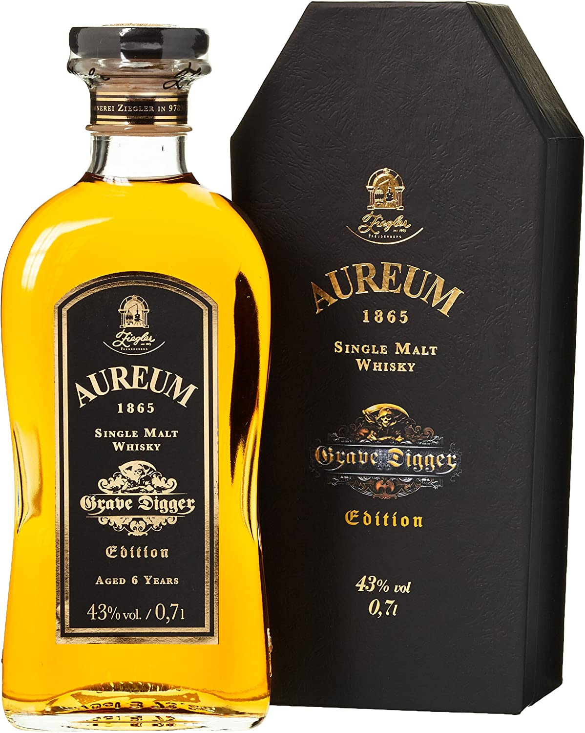 Aureum 1865 Grave Digger Single Malt Whisky