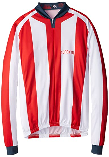 buy online 448e6 e0a0d Amazon.com : MLS Toronto FC Men's Striped Long Sleeve Vomax ...