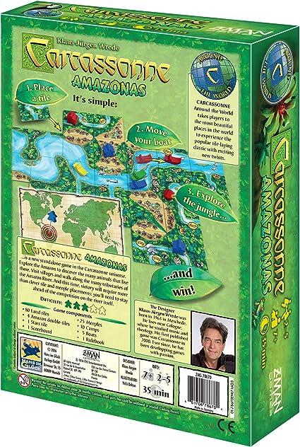 Z-Man Games Carcassonne Juego de Tablero: Amazon.es: Juguetes y juegos