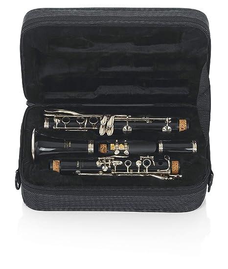 Gator GL-CLARINET-A - Estuche para clarinete, color negro