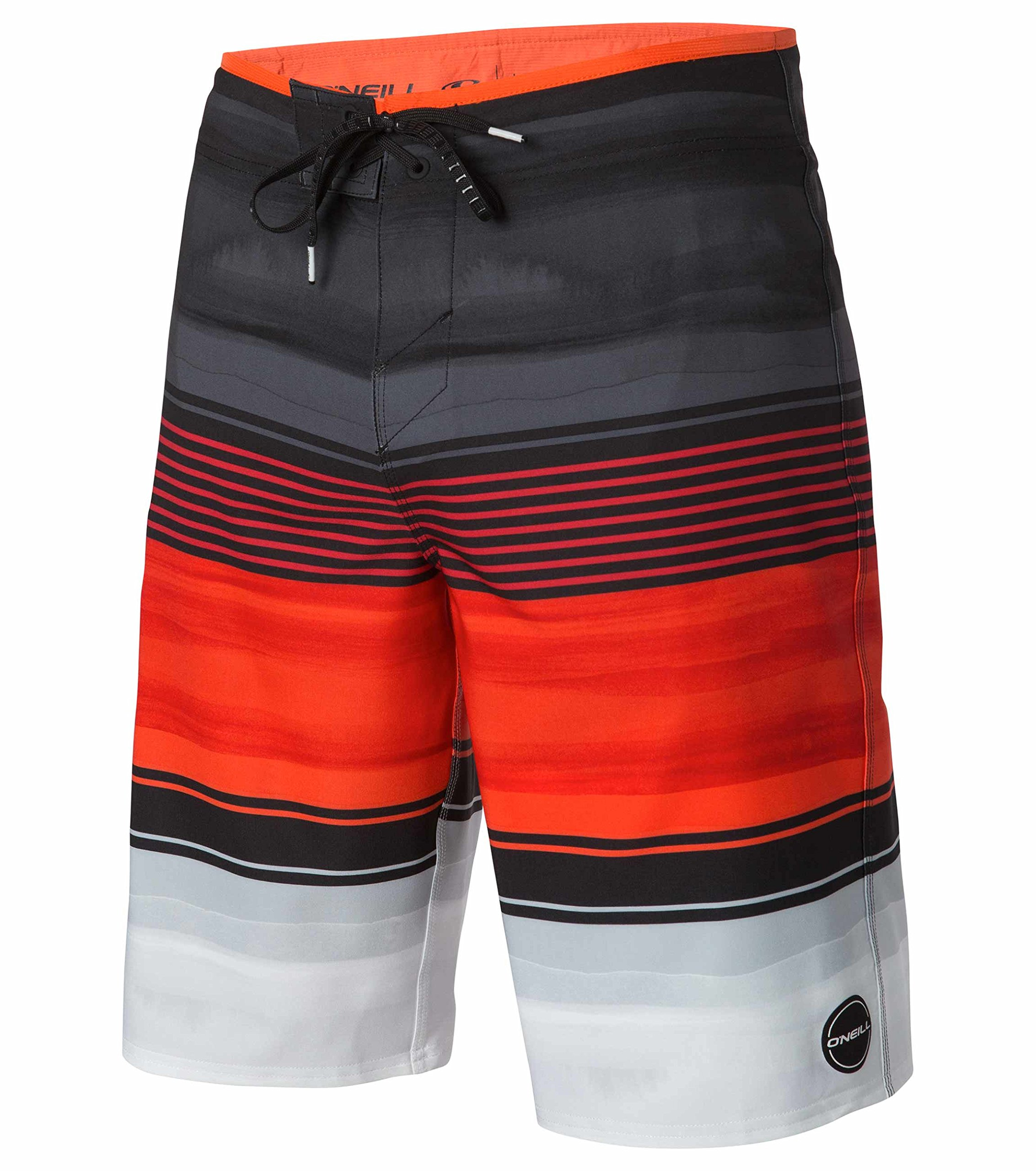 O'Neill Men's Expression Boardshort, Expression Red, 34