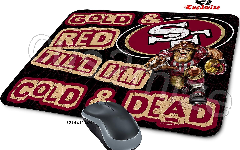 San Francisco 49ers Mouse Pad San Francisco 49ers Mousepad Sold By Cus2mize 0723736674788