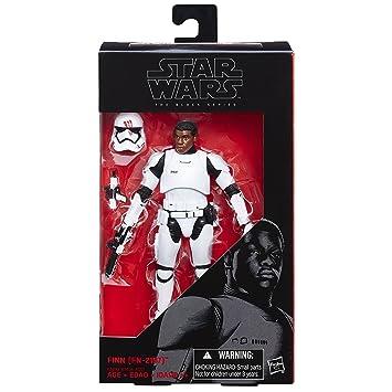 Star Wars Figura de acción Despertar de la Fuerza, Serie Black, de Finn,