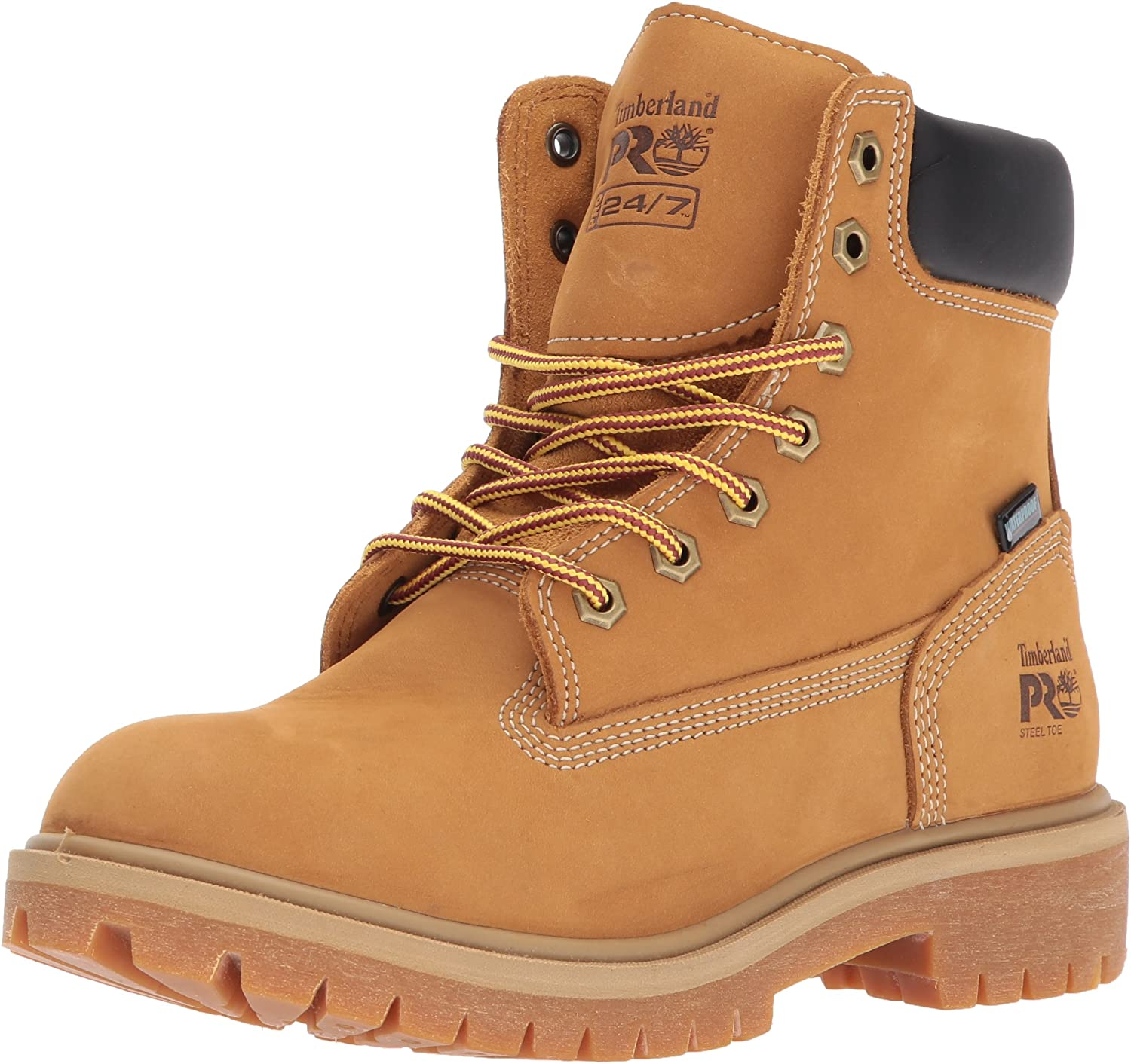 "Timberland PRO Women's Direct Attach 6"" Steel-Toe Waterproof Insulated Work Shoe: Shoes"