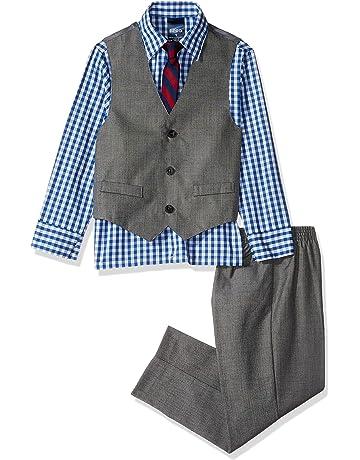 7e97a72f91 Izod Boys  4-Piece Vest Set with Dress Shirt