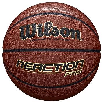 Wilson Pelota de Baloncesto Reaction Pro Cuero sintético Interior ...
