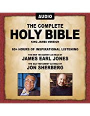 The Complete Holy Bible - KJV: The New Testament as Read by James Earl Jones; Old Testament as Read by Jon Sherberg