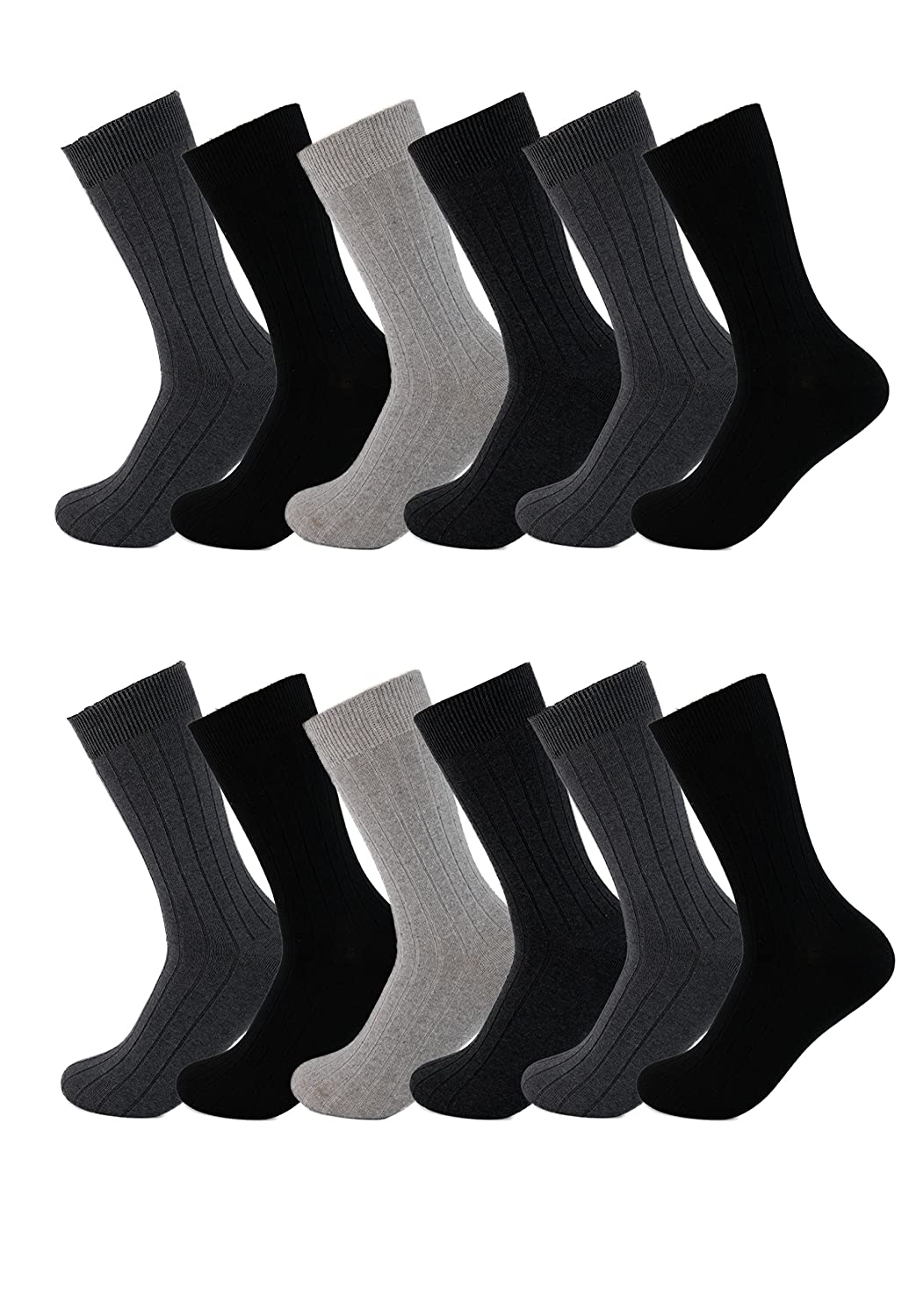 American Casual Men's Cotton Dress Socks
