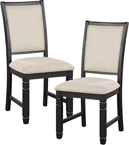 Lexicon Braun Dining Chair Set of 2