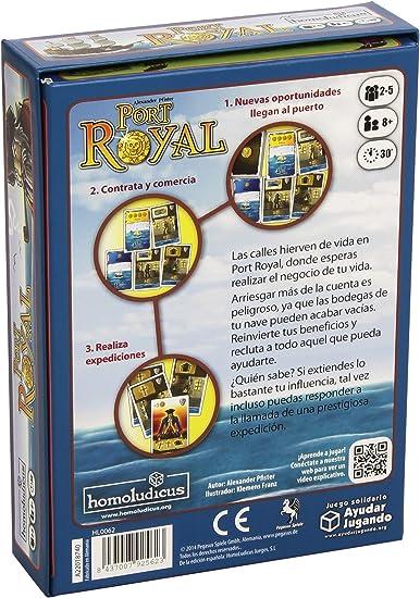 Devir - Port Royal (925623): Amazon.es: Juguetes y juegos
