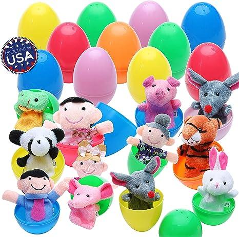 Amazon.com: 20 huevos de Pascua con divertidos cachorros de ...