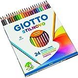 Fila - caja de 24 lapices stilnovo. mina 3.3 mm. colores vivos e intensos. colores surtidos