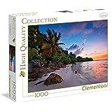 Clementoni - 39337.4 - Puzzle - tropical Idylle - 1000 Pièces