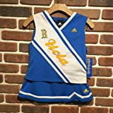 YOUTH ADIDAS UCLA CHEERLEADER OUTFIT 2 PCS SET R478TQ