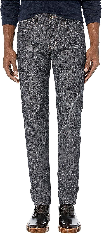 Naked /& Famous Mens Super Guy Summer Breeze Slub Selvedge Jeans