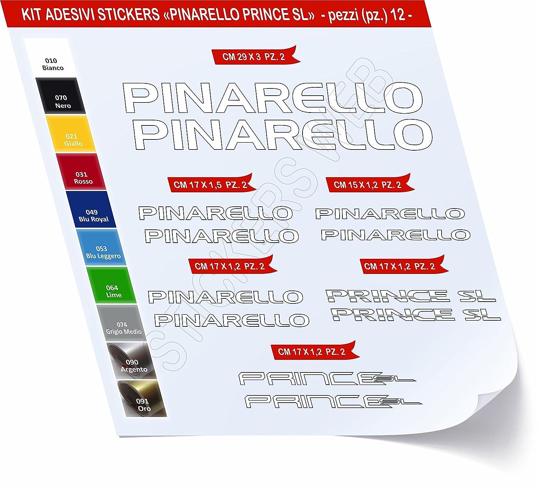 Pegatinas Bicicleta PINARELLO Prince SL Kit Pegatinas Stickers 12 ...