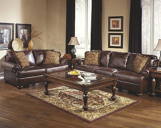 Amazon Ashley Furniture Signature Design Axiom Sofa with 2
