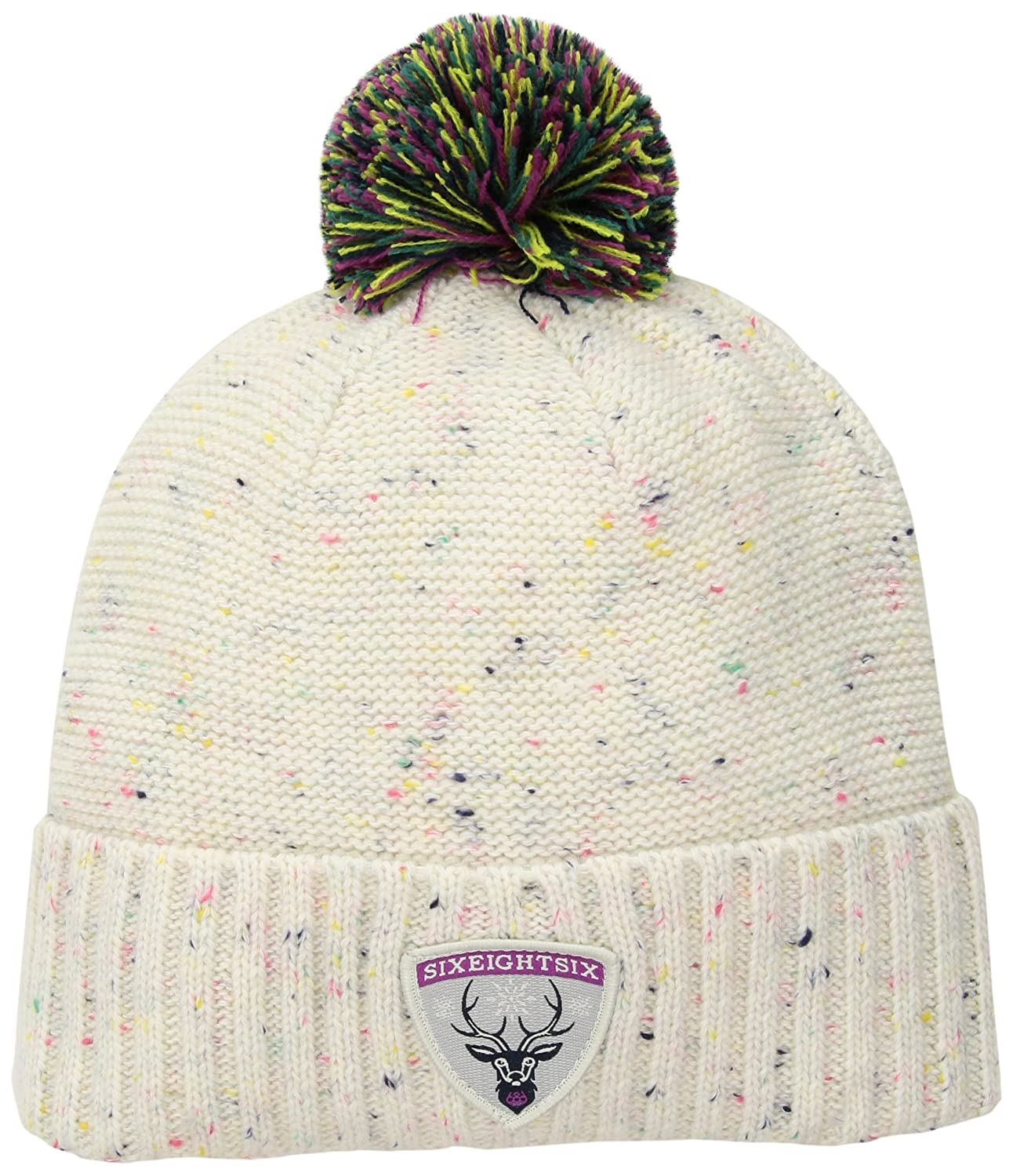 ae892aacda9 Amazon.com  686 Women s Wonderlux Hand Knit Beanie  Sports   Outdoors