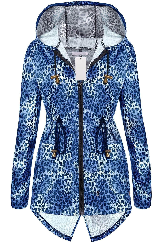 neudas Sport Jacket Women Black Trench Coat Women Long Womens rain Coat Raincoats