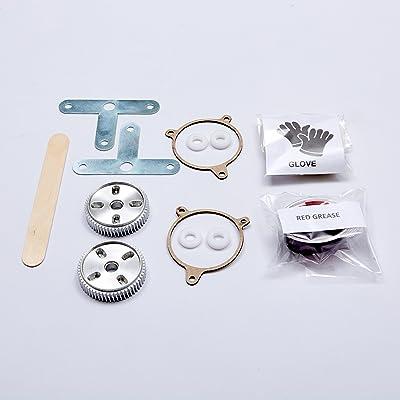 Corvette C5 Firebird Headlight Motor Repair Kit Aluminum: Automotive