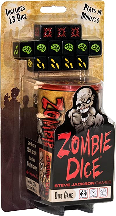 Steve Jackson EDGSJ02 Dados Zombies Juego de mesa, Versión en inglés: Amazon.es: Juguetes y juegos