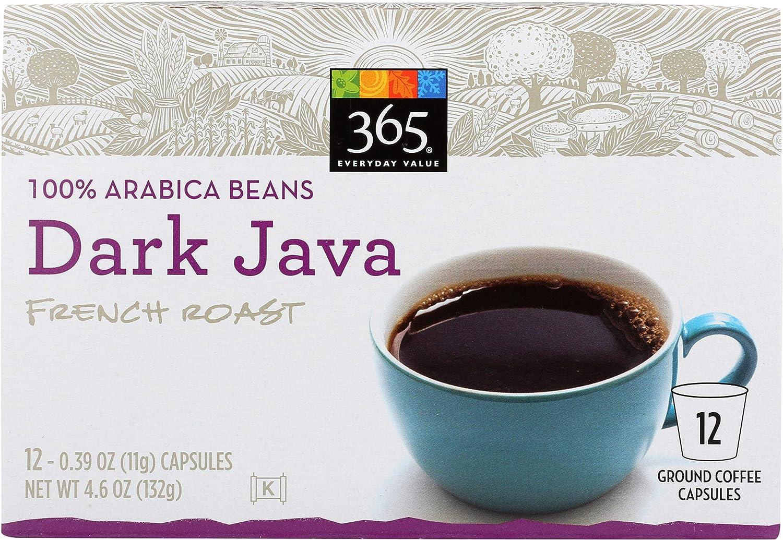 365 Everyday Value, Dark Java Coffee Capsules, 12 ct