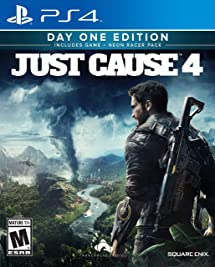 Amazon Com Just Cause 4 Playstation 4 Square Enix Llc Video