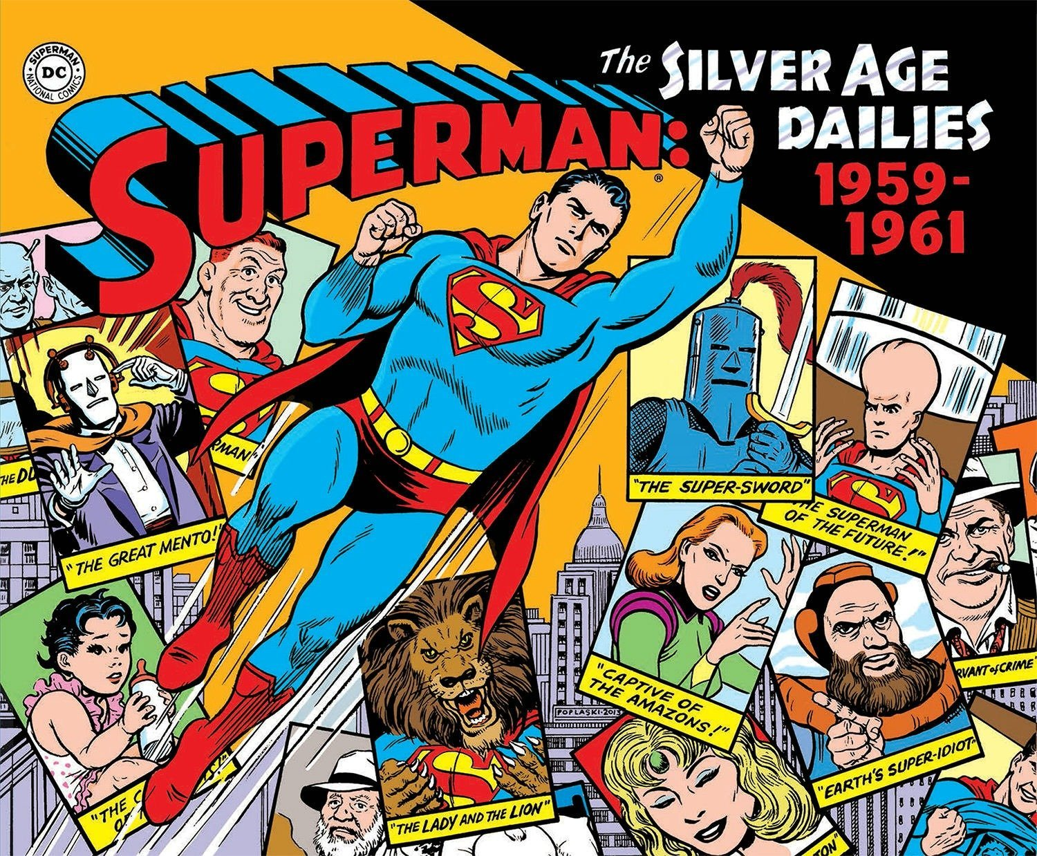 Superman: The Silver Age Newspaper Dailies Volume 1: 1959-1961 (Superman Silver Age Dailies) by IDW Publishing