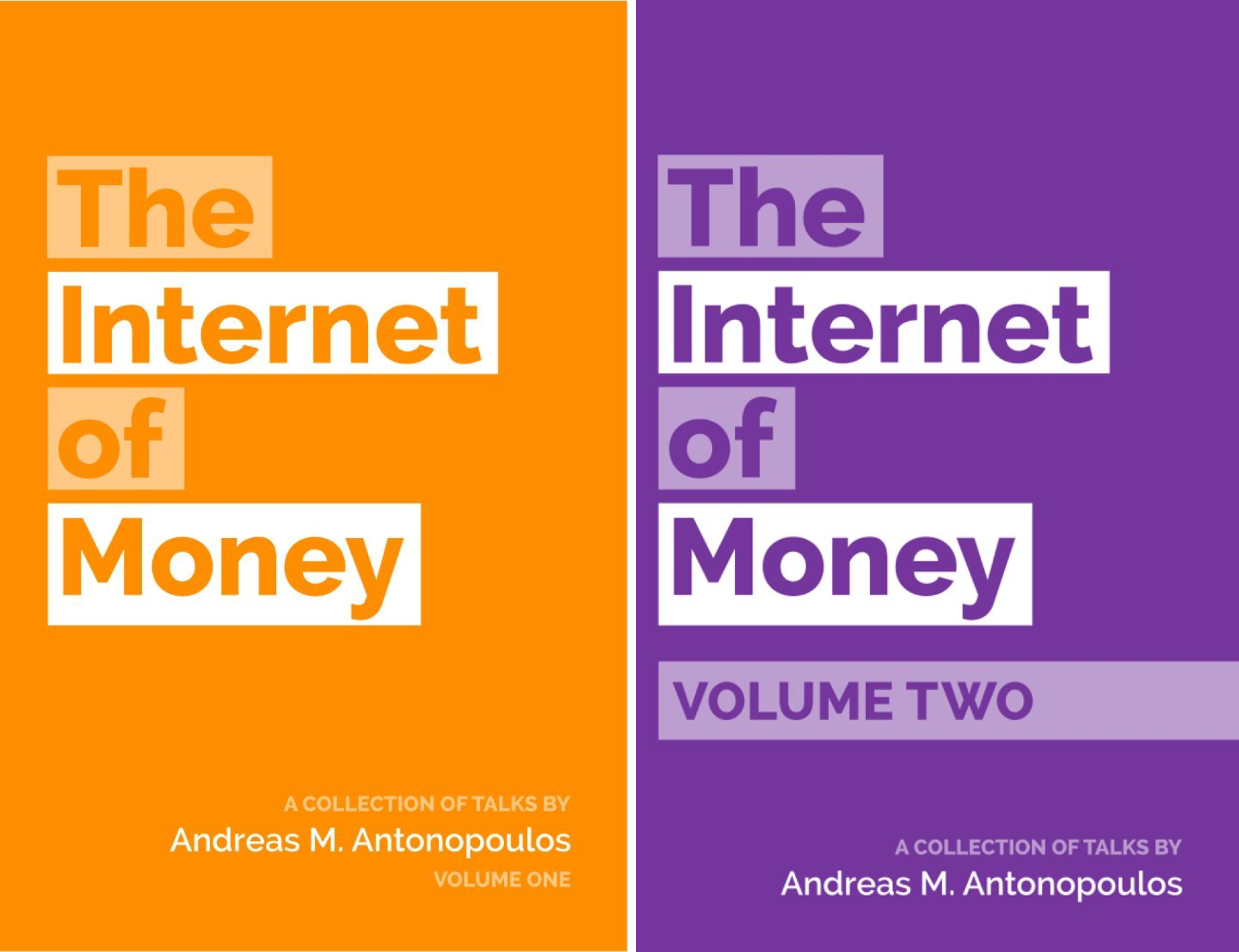 The Internet of Money (2 Book Series)