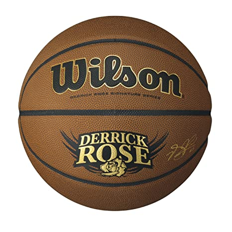 f50a38be8d447 Amazon.com : Wilson Derrick Rose Hero Basketball : Sports & Outdoors