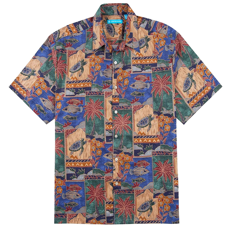 d46f1e020 Tori Richard Marquises Cotton Lawn Camp Shirt at Amazon Men's Clothing  store: Button Down Shirts