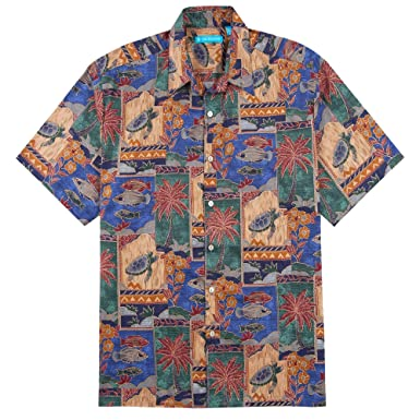 5db2992d Tori Richard Marquises Cotton Lawn Camp Shirt at Amazon Men's Clothing  store: Button Down Shirts