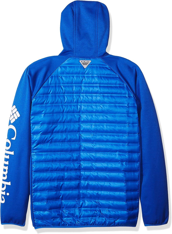Columbia Herren Terminal Hybrid Hoodie Lebhaftes Blau
