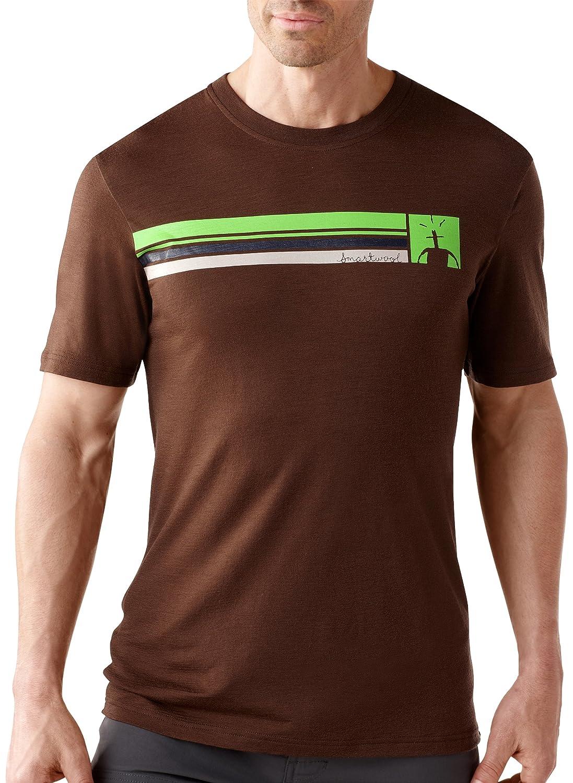 Smartwool Herren Bekleidung/NTS Short Sleeve Logo Stripe Tee