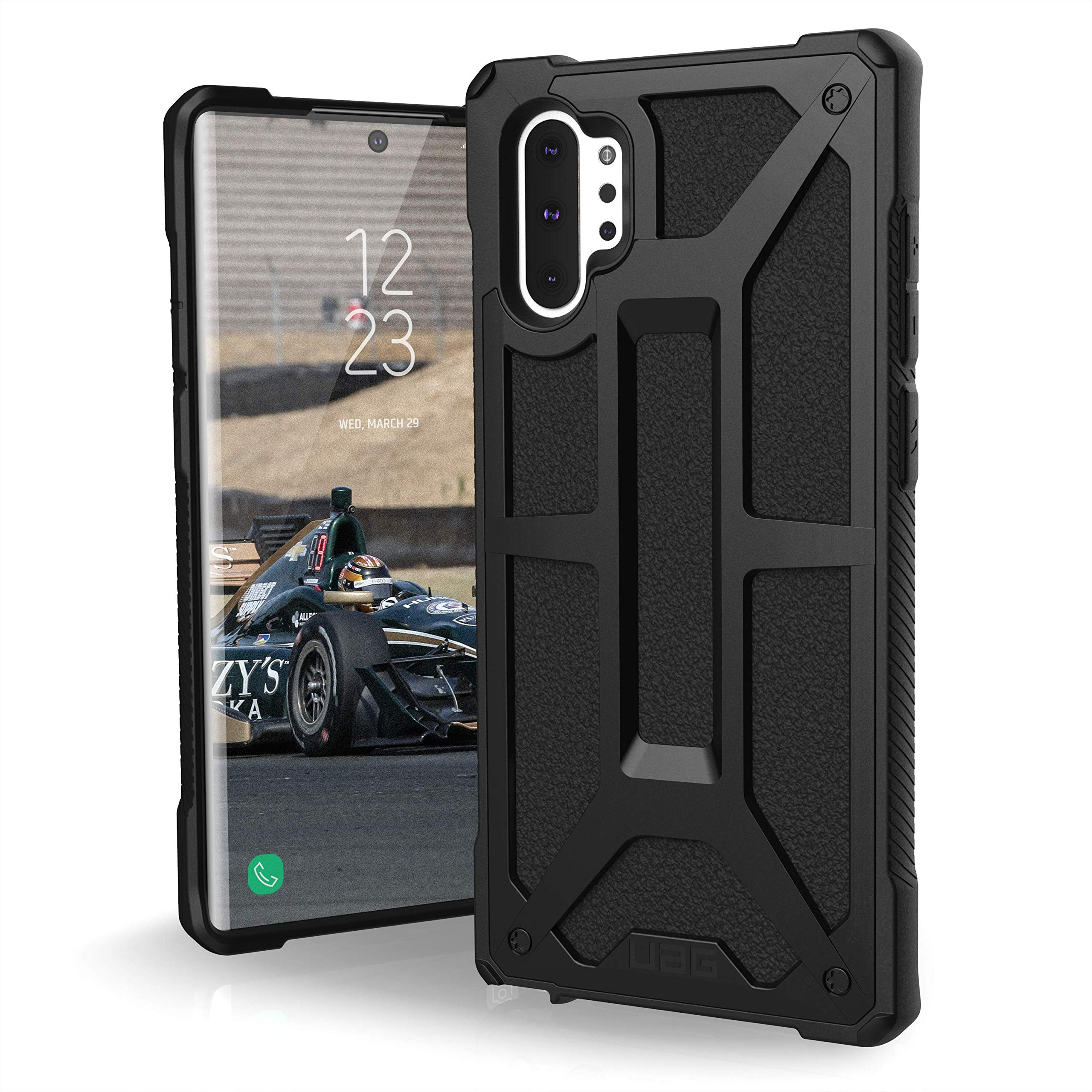UAG Designed for Samsung Galaxy Note10 Plus [6.8-inch Screen] Monarch Feather-Light Rugged [Black] Military Drop Tested Phone Case by URBAN ARMOR GEAR